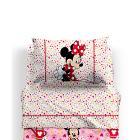 Completo lenzuola Minnie Provenza (misura: piazza e mezza)
