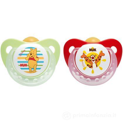 2 Succhietti Winnie The Pooh in lattice misura 3