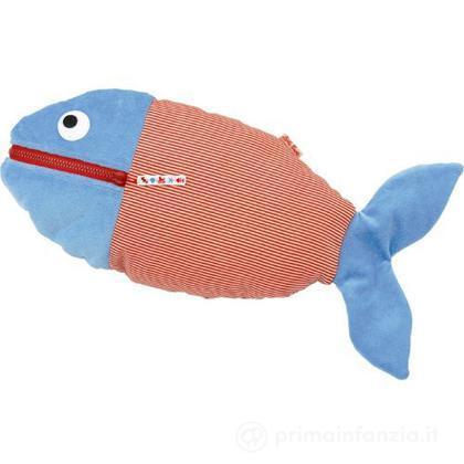Cuscino pesce con tasca