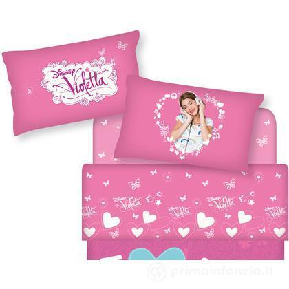 Completo lenzuola Disney Violetta