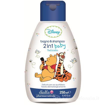 2 in 1 Bagnoschiuma & Shampoo 250 ml Winnie the Pooh