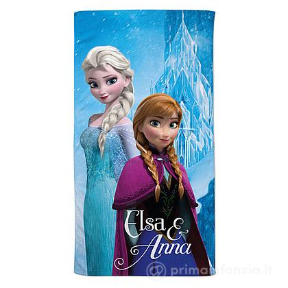 Telo mare Frozen Elsa e Anna