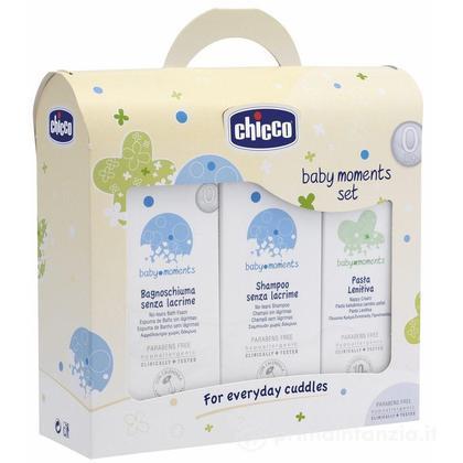 Baby Moments Set Bagno-Shampoo-Pasta Lenitiva