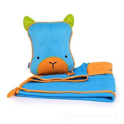Cuscino e coperta viaggio SnoodziHedz
