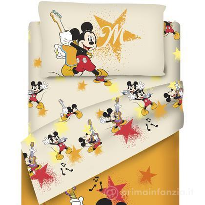 Completo lenzuola Disney Mickey Rocks