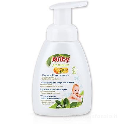 Bagno schiuma e shampoo 250ml Citroganix