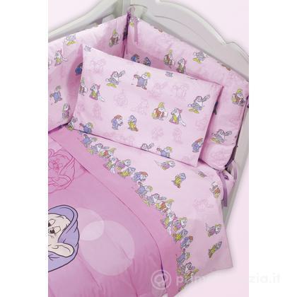 Completo lenzuola Disney Baby Sette Nani