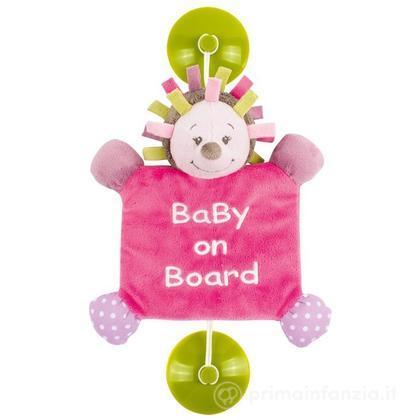 Segnale auto Baby on board Manon & Alizee