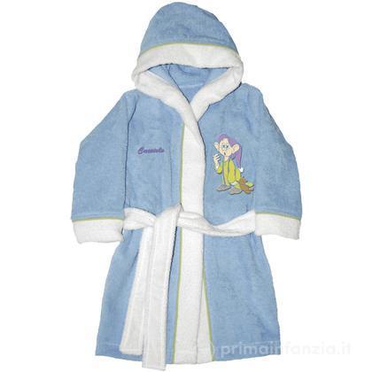 Accappatoio Disney Baby Sette Nani azzurro