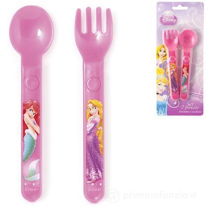Set 2 posate Disney Principesse