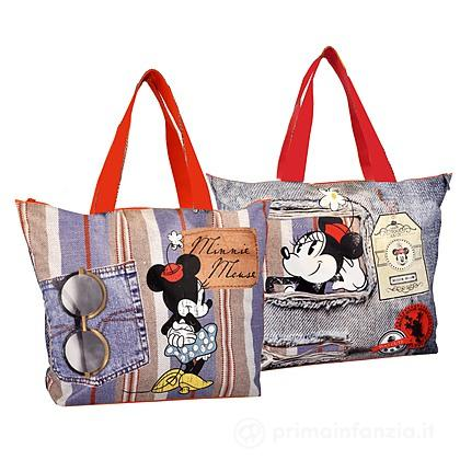 Borsa mare Minnie Denim