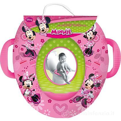 Riduttore WC morbido con maniglie Minnie