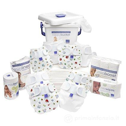 Set pannolini lavabili Miosoft Birth to Potty Premium