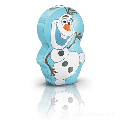 Torcia portatile LED Frozen Olaf