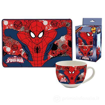 Set tovaglietta e tazza Spider Man