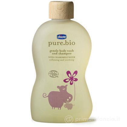 Bagno delicato corpo e capelli Pure.bio