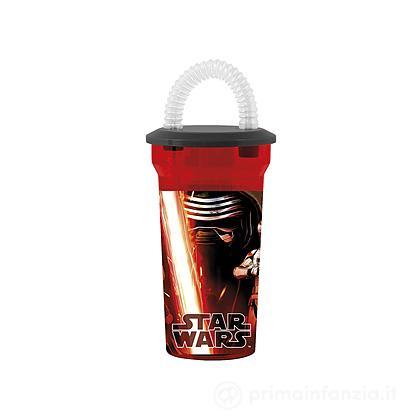 Bicchiere con cannuccia Star Wars