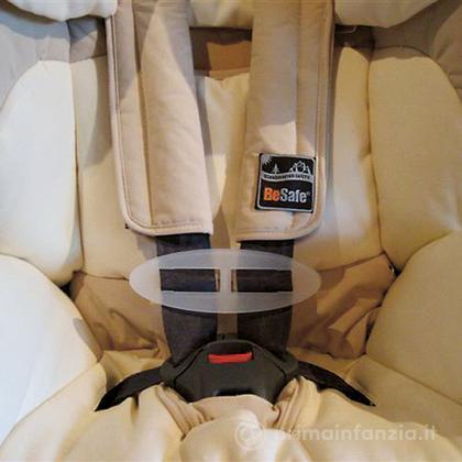 Dispositivo di sicurezza per cinture seggiolino