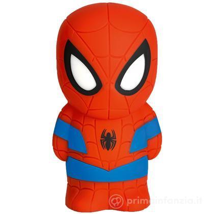 Lucina da notte LED Spider Man SoftPal portatile
