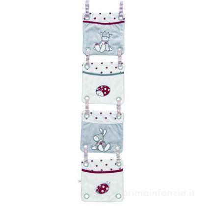 Tasche portaoggetti per lettino Paquito & Lolita