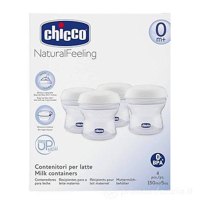 4 Contenitori latte Natural Feeling