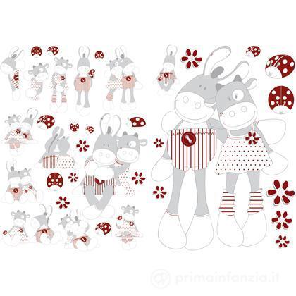 Adesivi decorativi Paquito & Lolita