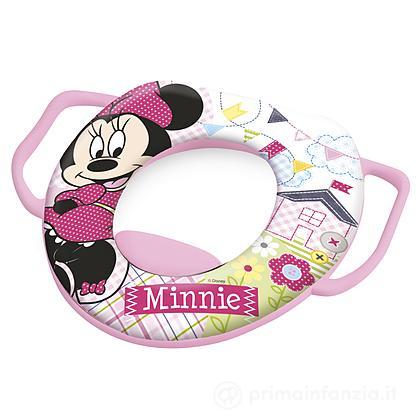 Riduttore WC soft con manici Minnie