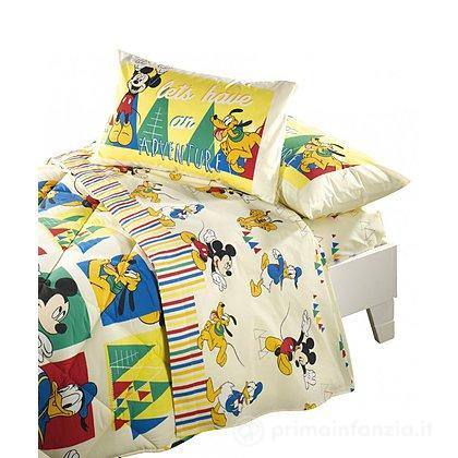 Completo lenzuola Mickey Avventura
