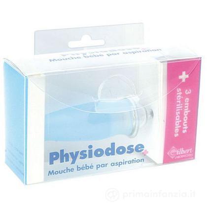 Aspiratore nasale Physiodose con imbuti