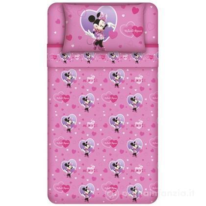 Completo letto Disney Minnie Cuore
