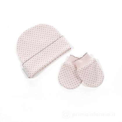 Set cappello e manopole Baby Essential