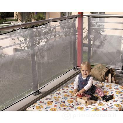 Rete di protezione per balcone