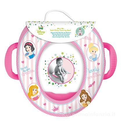 Riduttore WC morbido con maniglie Principesse