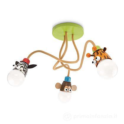 Lampada da soffitto Zoo