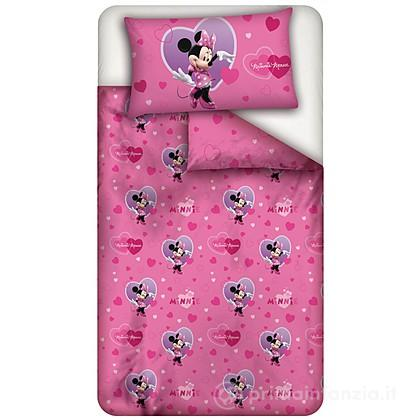 Parure copripiumino Disney Minnie Cuore