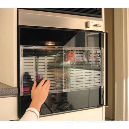 Protezione trasparente per forno
