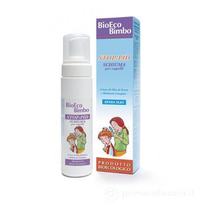 Stop-pid schiuma per capelli antipidocchi biologico