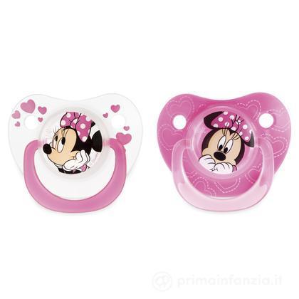 2 succhietti Disney Minnie silicone 3m