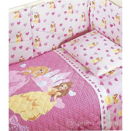 Completo lenzuola Principesse Baby
