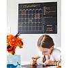 Calendario da Muro - Effetto Lavagna - Include 4 Butter