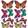 Adesivi murali rimovibili Butterfly 3D