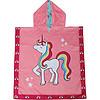 Accappatoio Poncho Reversibile 2-6 anni Unicorno