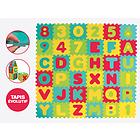 Tappeto Gioco Puzzle Lettere 36 pz