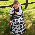 Copertina Universale Cosy 5-1 per sedie a rotelle modello Bambino