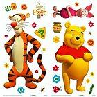 Adesivi Murali Winnie the Pooh Small