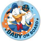 Segnale auto baby on board Paperino