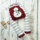 Leggings Fluffy Snowman