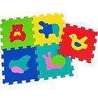 Tappeto Puzzle Animali 5 pz