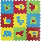 Tappeto Puzzle Animali Basic 9pz