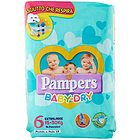 Pannolini Pampers Baby Dry Extra Large Taglia 6